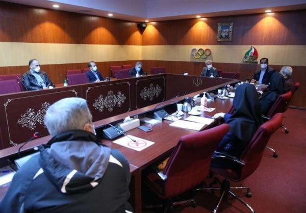 برگزاری نشست مسئولان کمیته ملی المپیک و فدراسیون تنیس روی میز