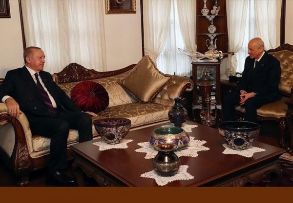 حدس ها درباره ملاقات اردوغان و باغچلی؛ تغییرات قانون اساسی یا انحلال حزب دموکراتیک خلق ها؟
