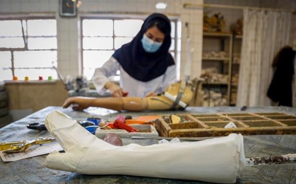 (تصاویر) مرکز ساخت اندام مصنوعی