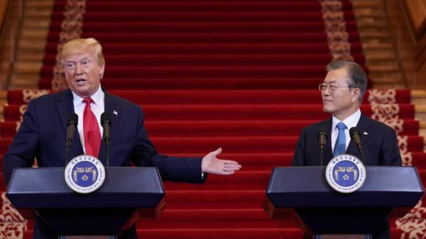 سئول پاسخی برای سخنان ترامپ ندارد