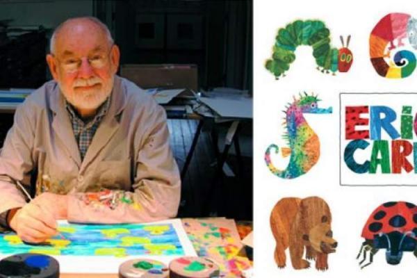 اریک کارل، نویسنده محبوب کتاب های کودک از دنیا رفت