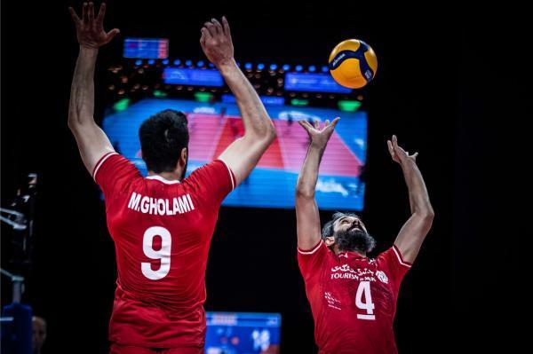 لیگ ملت های والیبال، پیروزی قدرتمندانه ایران برابر آمریکا