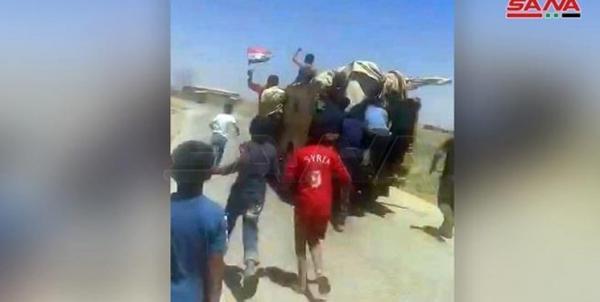 مردم سوریه نظامیان آمریکایی را از روستای خود بیرون کردند