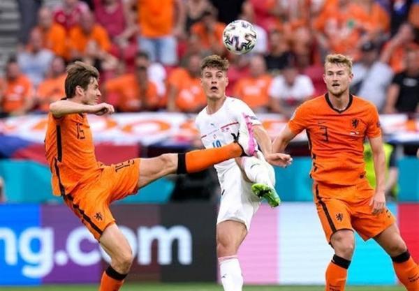 یورو 2020، شکست هلند مقابل جمهوری چک به روایت تصویر