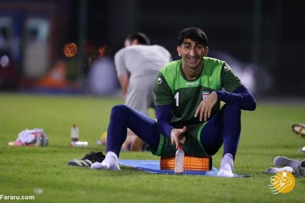 بیرانوند: می خواستم بازیکن عراق را خفه کنم!