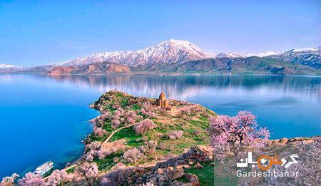 دریاچه وان، بزرگترین دریاچه ترکیه