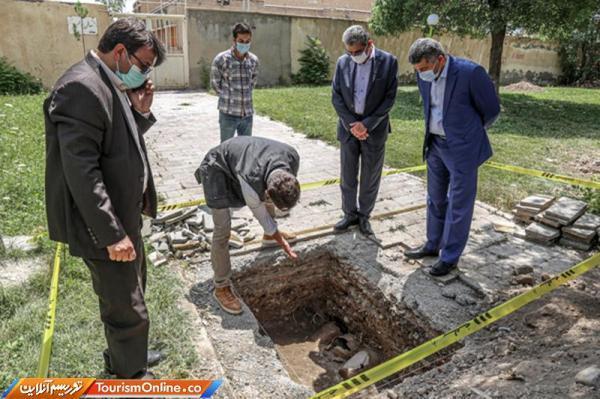 مشخص عرصه و پیشنهاد حریم برای مجموعه شیخ شهاب الدین اهری