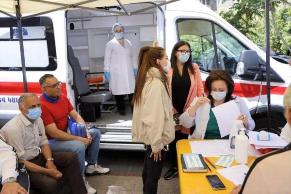 شرط نو ارمنستان برای واکسیناسیون اتباع خارجی