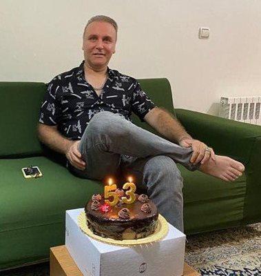 جشن تولد 53 سالگی بازیگر روزگار جوانی