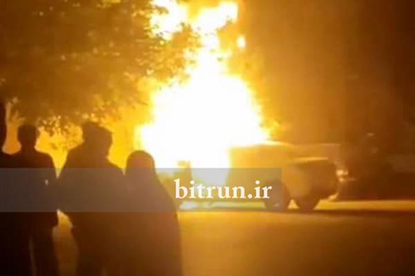 خودرو سایپا شاهین دوباره آتش گرفت ، دلیل آتش سوزی محصول سایپا چیست؟