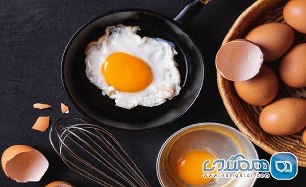 مصرف تخم مرغ در وعده صبحانه وزنتان را کاهش می دهد